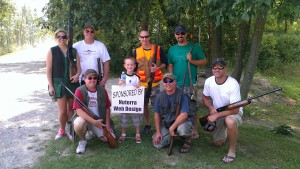 NuTerra participates in Take'Em Outdoors Sporting Clays 08/25/12