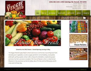 The Veggie Shed Home Page