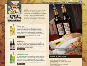 Fat Louie's Olive Oil Home Page