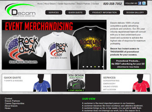 Decom Promotional Marketing Home Page